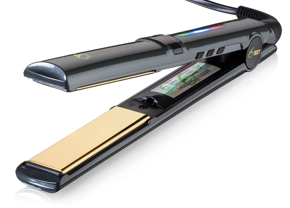 styling hair with straighteners professional ceramic ionic flat iron hair straightener 7231