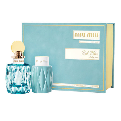 Miu Miu Eau Bleue Best Wishes Gift set 2 pcs Women