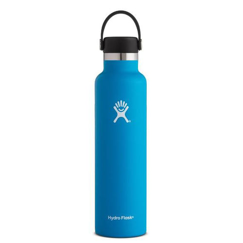 Hydro Flask Standard-Mouth Water Bottle with Flex Cap, Pacific - 24 fl. oz.