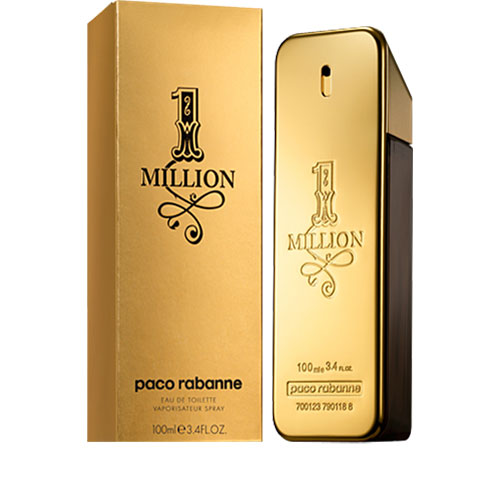 Paco Rabanne 1 Million EDT 3.4 oz 100 ml Men