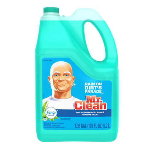 Mr. Clean Multi-Surface Cleaner with Febreze Meadows & Rain 175 oz - 1.36 GAL