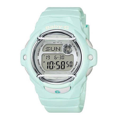Casio Baby-G Classic Digital Watch Green (BG169R-3) Women