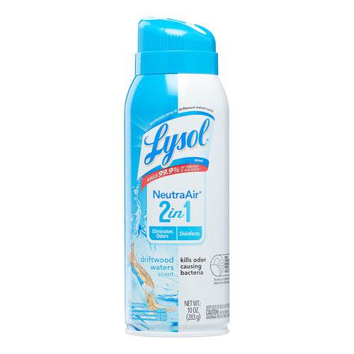 Lysol Disinfectant Spray, Neutra Air 2 in 1 Driftwood Waters 10 oz