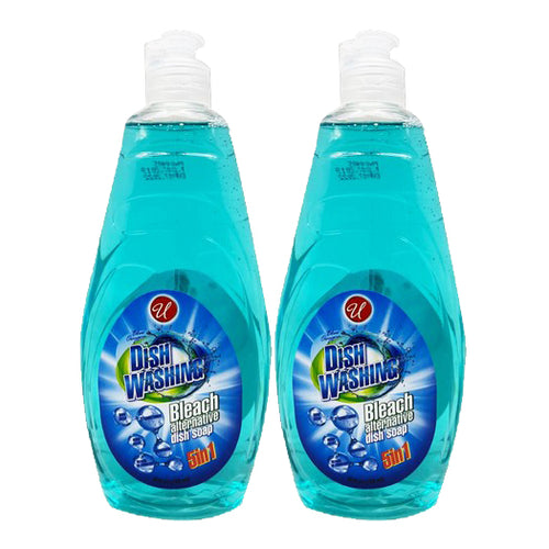 "Dish Washing 5in1 Blue Oxygen 25 oz 750 ml ""2-PACK"" by Universal"