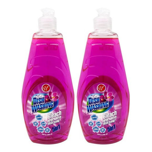"Dish Washing 5in1 Floral Burst 25 oz 750 ml ""2-PACK"" by Universal"