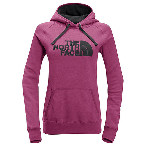 The North Face Women's Avalon Half Dome Waffle Hoodie Pink/Grey
