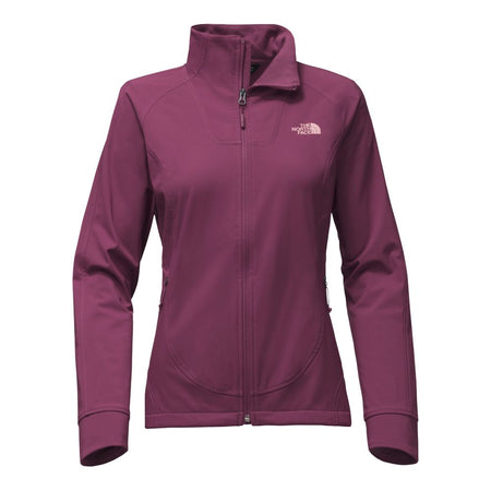 The North Face Women's Trivert Hoodie with Textured Print - Heather Grey/Pink
