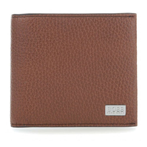 Boss Hugo Boss Crosstown 8cc Wallet Leather Cognac