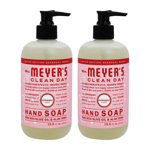 "Mrs. Meyer's Clean Day Hand Soap Olive Oil & Aloe Vera 12.5 oz ""2-PACK"""
