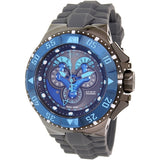 Invicta Men's 'Excursion' Swiss Quartz Stainless Steel and Silicone Watch, Color: Grey (18564)