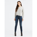 Levi's Women's 711 Mid Rise Embroidered Skinny Jeans (188810296)