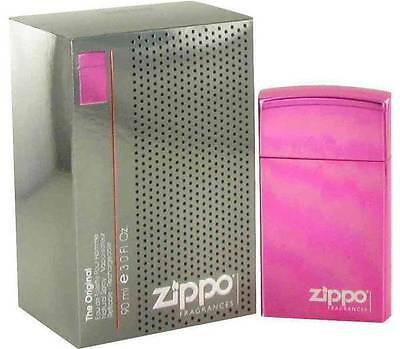 ZIPPO The Original PINK pour homme EDT 3.0 oz 90 ml