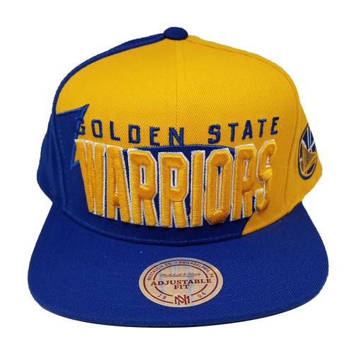 Mitchell & Ness Shark Tooh Snapback Golden State Warriors OS (BH78BR) Blue