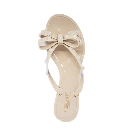 Ann More Barcelona Jelly Sandals Strap Flip Flop