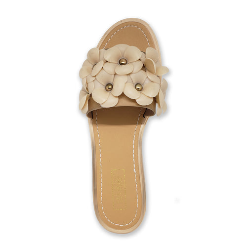Ann More Creta Flowers Slider Sandals