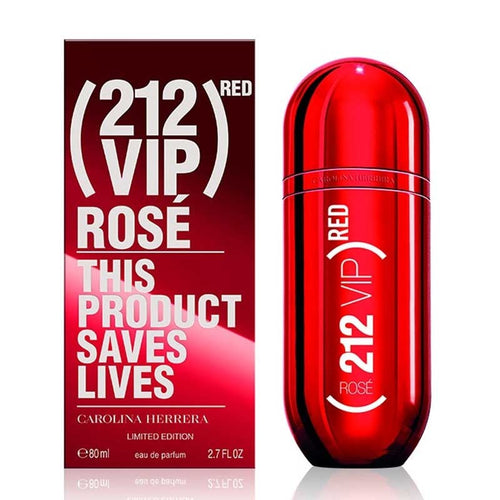212 Vip Rose Red Limited Edition - Eau de Parfum, 80 ml TESTER BOX
