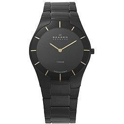 Skagen Black Label Black Dial Men's Watch #585XLTMXBG