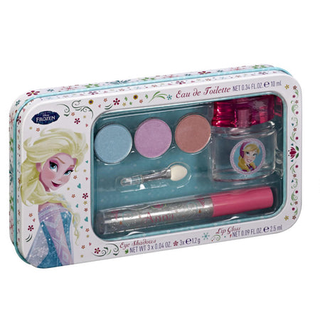 Frozen II Gift Set EDT 3.4 oz 100 ml Plus Lip Gloss Zip Bag Gift Set