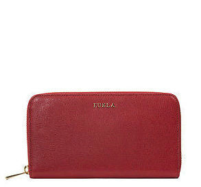 Furla PN08 Babylon Zip Around Wallet Cabernet Leather (750157)