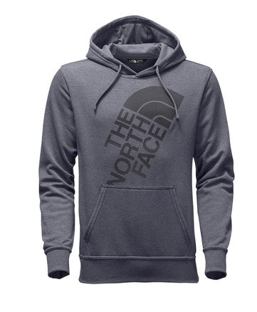 The North Face Men's Jumbo Half Dome Hoodie-Medium Grey/Black