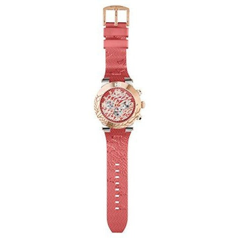 BTECH Unisex Bt-Re-613-12 Ocean Analog/Multifunction Watch, Coral Red