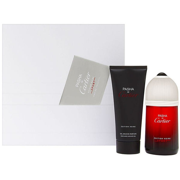 Pasha de Cartier Edition Noire Sport Gift Set  2 Piece 3.3 oz EDT 3.3 oz Perfumed Shower Gel
