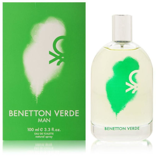 Benetton Verde EDT 3.4 oz 100 ml