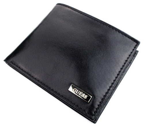 Guess Men's New Hope Bifold Wallet, Black