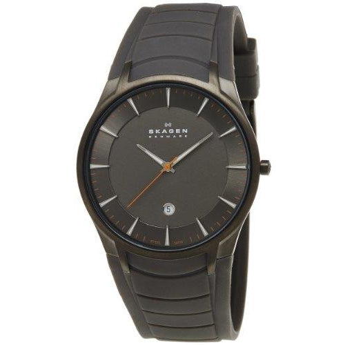 Skagen Men's 955XLSMRM Stainless Steel Grey Dial Watch