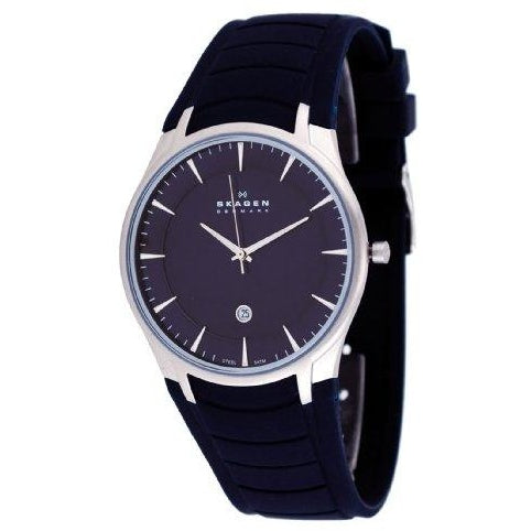 Skagen Blue Rubber Strap Watch