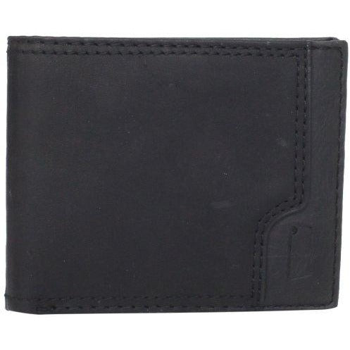 Levi's Men's Leather Passcase with Stitch Tab Detail