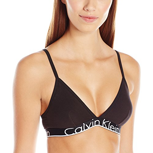 Calvin Klein Women's Id Cotton Large Waistband Triangle Unlined Bra