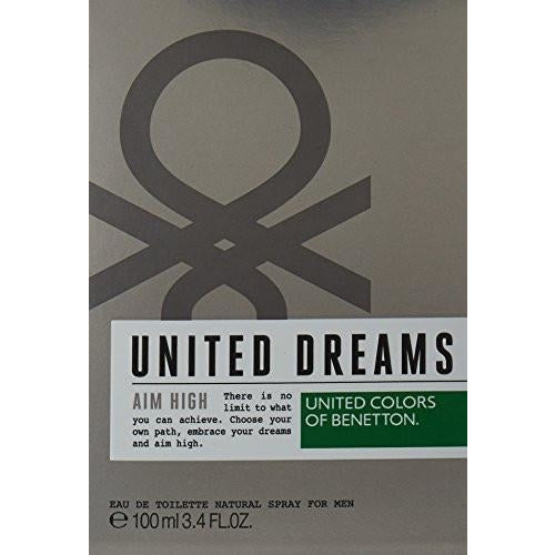 United Colors of Benetton United Dreams Aim High EDT 3.4 oz 100 ml Men