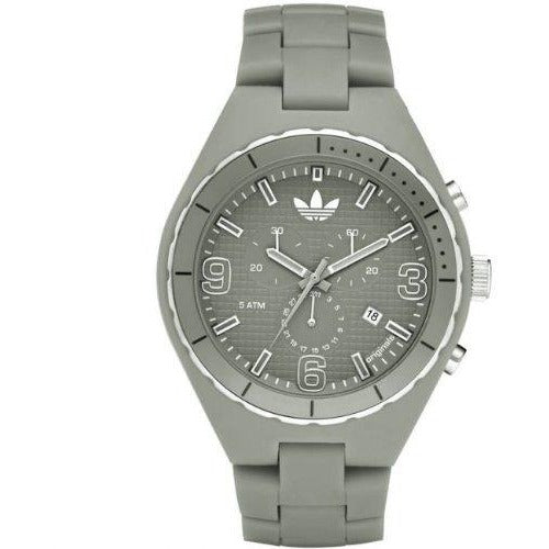 Adidas Cambridge Chronograph Grey Dial Grey Plastic