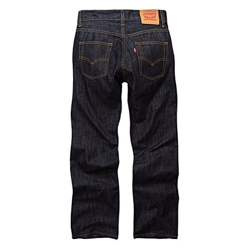 Levi's Big Boys' 514 Slim Straight Fit Jeans, 3D Rigid