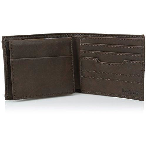 Levi's Men's Levis Passcase Wallet with Removable Card Holder