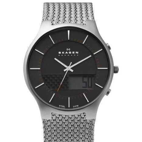 Skagen Steel Weaved Mesh Watch