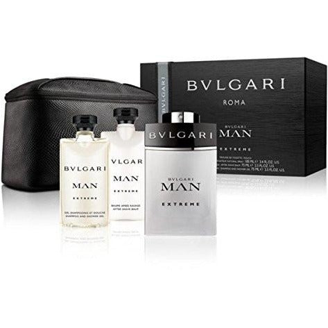 Bvlgari Man Extreme EDT Gift Set 4 pc Men