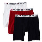 Tommy Hilfiger 3-Pack Boxer Brief, White/Red/Navy (09T1912608)