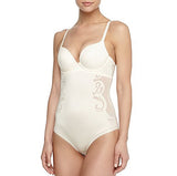 Spanx Womens Haute Contour Deco Sweetheart Panty Body SS0515 Pearlized White Body Shaper