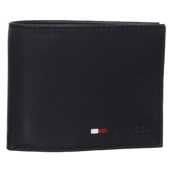 Tommy Hilfiger Men's Stockon Coin Wallet Black ( 31TL25X020)