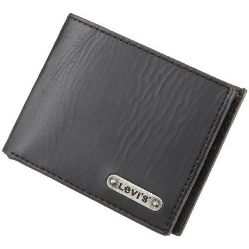 Levi's Men's Traveler Wallet,Black,One Size
