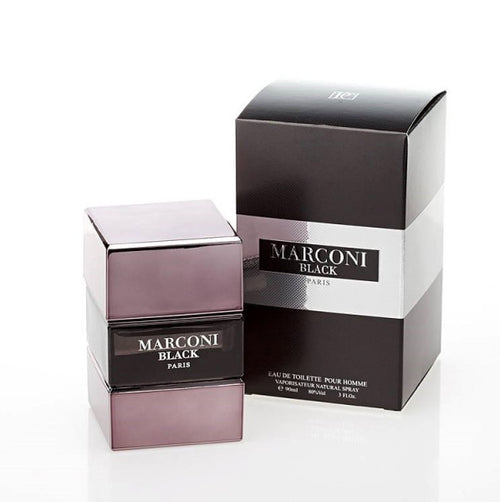 Prime Collection Marconi Black EDT 3.0 oz 90 ml For Men