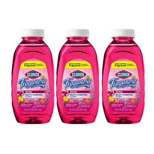 Clorox Fraganzia Multi Purpose Cleaner, Spring Scent (Pack of 3)