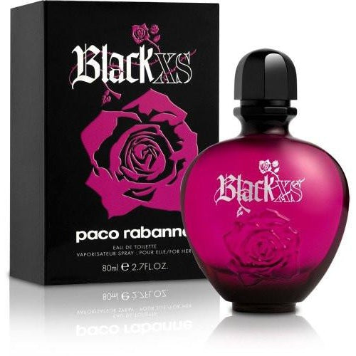 Paco Rabanne Black XS By EDT Spray 2.7 oz Women