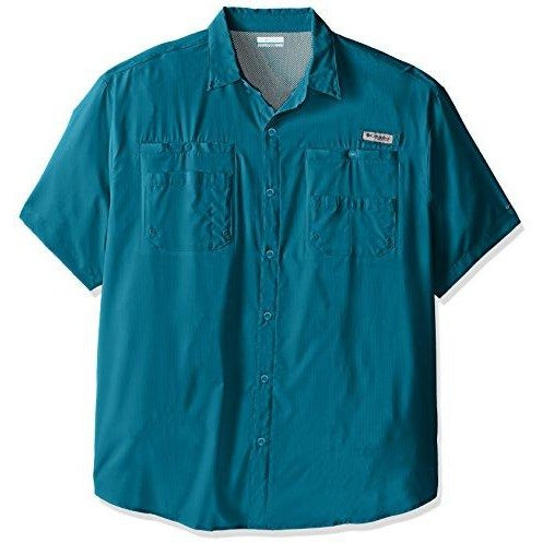 Columbia Sportswear Men's Tamiami II Short Sleeve Shirt, Deep Marine, X-Small