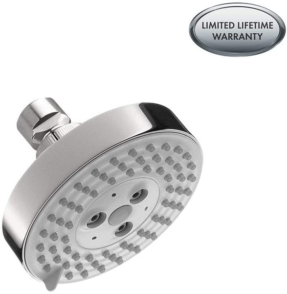 Hansgrohe 04340000 Raindance S 100 AIR 3-Jet Showerhead Chrome