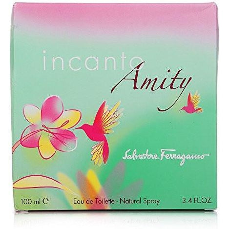 Salvatore Ferragamo Incanto Amity Eau de Toilette Spray for Women, 3.4 oz