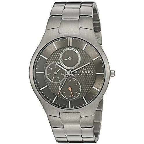 Skagen Men's 806XLTXM AKTIV Analog Display Analog Quartz Silver Watch