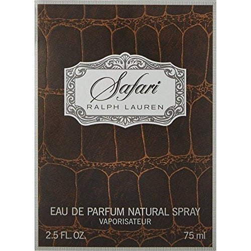 Ralph Lauren Safari Women Eau De Parfum Spray, 2.5 oz. 75 ml.